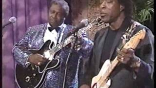 BB King & Buddy Guy - Tonight Show 1993