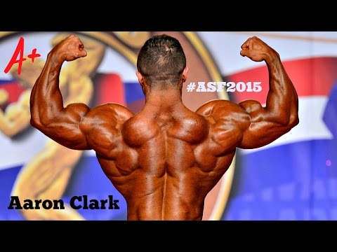 Aaron Clark  -Posing Routine - Arnold Classic 2015