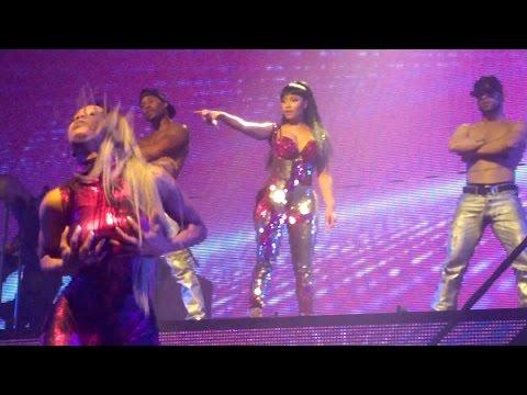 Nicki Minaj @ Paris, The Pinkprint Tour