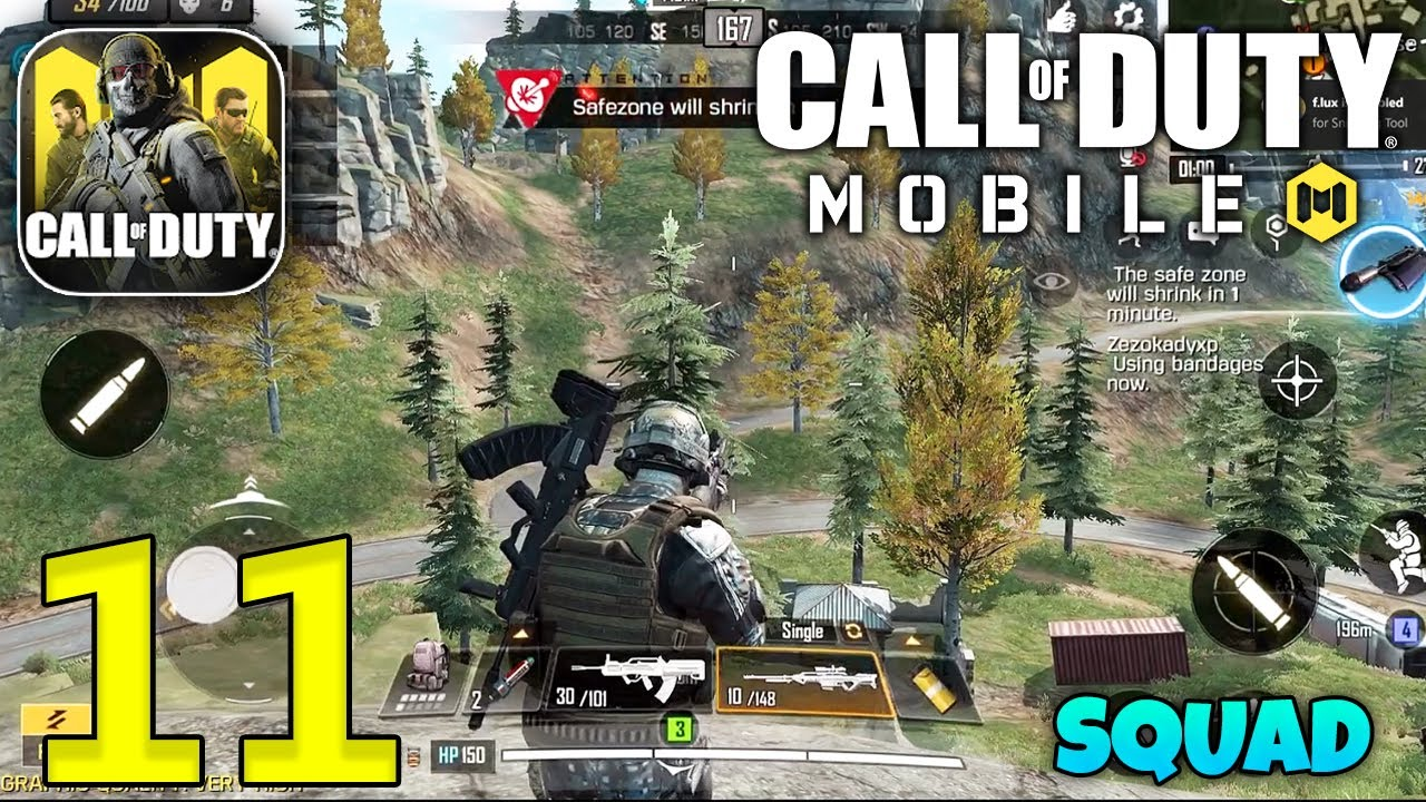 CALL OF DUTY MOBILE - Squad Gameplay - Part 11 thumbnail