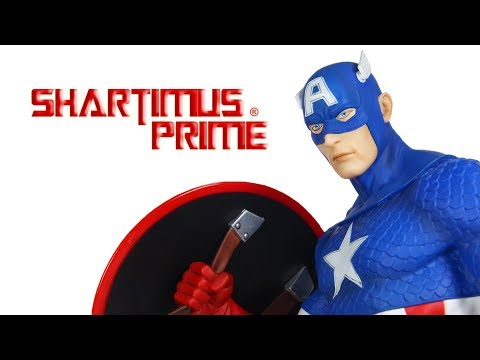 Classic Captain America 1:6 Scale Kotobukiya ARTFX Marvel Statue Review