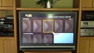 Plex app on Roku