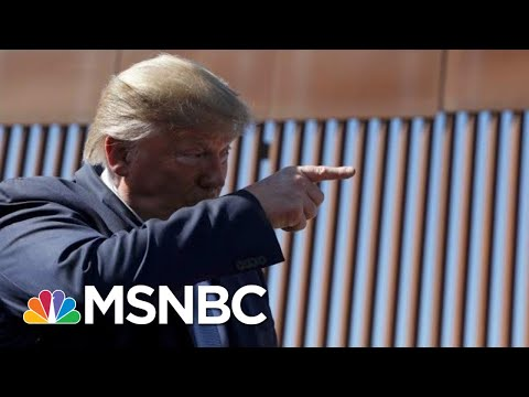 Trump Says New Border Wall Has Technologically Advanced Concrete | The 11th Hour | MSNBC