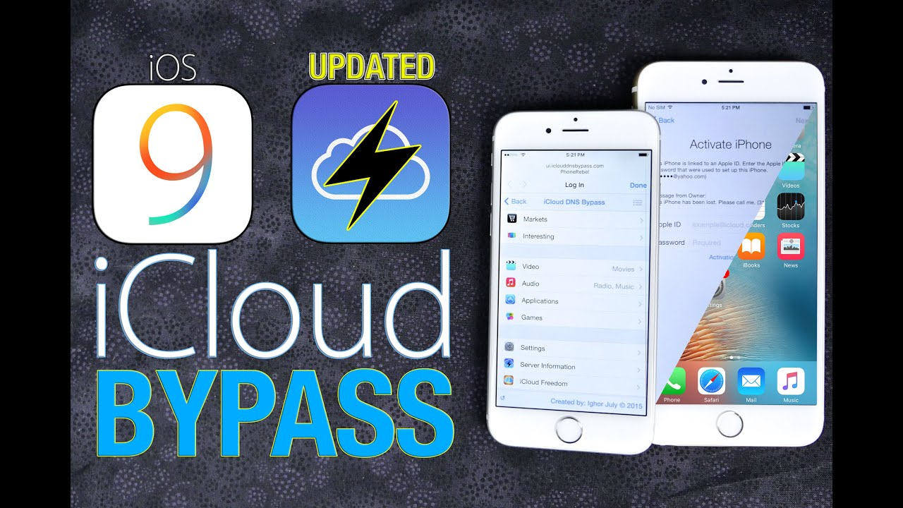 How to Bypass iCloud Activation Lock in iOS 12, 11 or Earlier on
