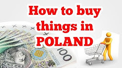 Shopping in Poland - prices and phrases