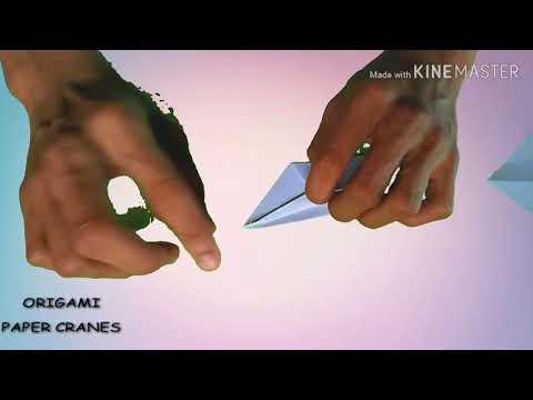 Origami Paper Crane Tutorial