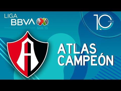 ¡Atlas Campeón Sub-15 del Apertura 2019!
