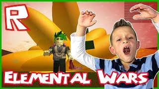 WARNING: LOUD SCREAMER plays Roblox Elemental Wars