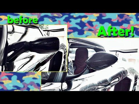 GRP Mirror Install on a Lotus Elise