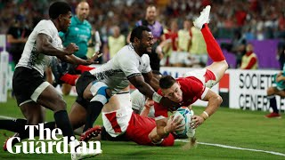 Rugby World Cup: Wales survive Fiji scare as Scotland put nine past Russia
