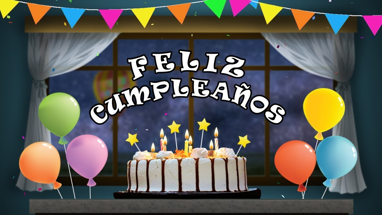 Feliz Cumpleaos Amigo Frases Happy Birthday Wishes In SpanishBirthday Song With Music