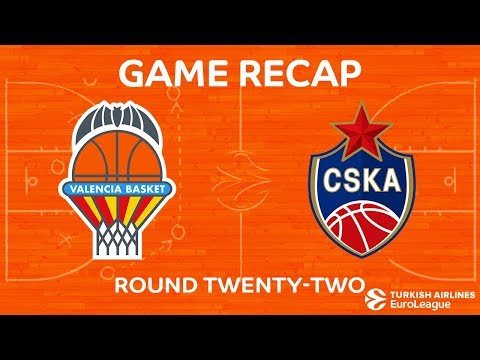 Highlights: Valencia Basket - CSKA Moscow