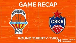 Highlights: Valencia Basket - CSKA Moscow