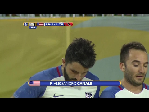 GOAL United States, Alessandro CANALE No. 9