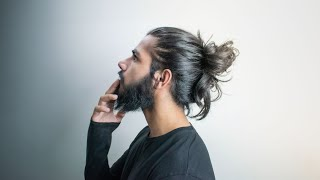 These are my TΟP 3 Man Buns - Find your style!
