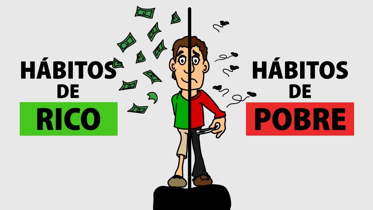 6 diferencias entre RICOS y POBRES - Hábitos de ricos y pobres
