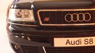 audi s8 a8 d2 2001 in scale 1 18 by otto mobile