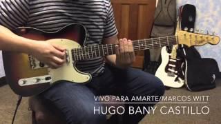 Marcos witt/ Vivo Para Amarte/Guitar Intro/Riggio Custom Guitars Tango