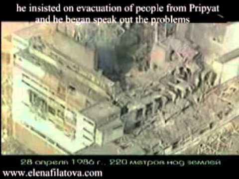 Chernobyl Reactor Core Lava