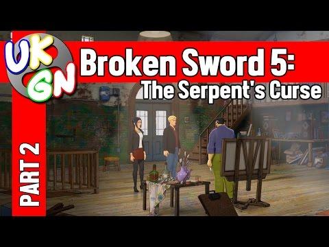 Broken Sword 5: The Serpent's Curse - 100% Walkthrough - Part 2