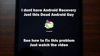 I dont have Android Recovery only a dead Android Guy