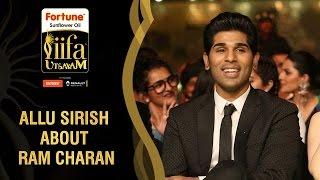 ram charan has broken the myths about south indian stars says allu sirish   iifa utsavam awards 2016