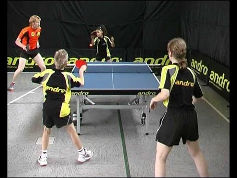 Table tennis. Teaching with Cristian Suss