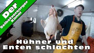Repeat youtube video Huehner und Enten schlachten