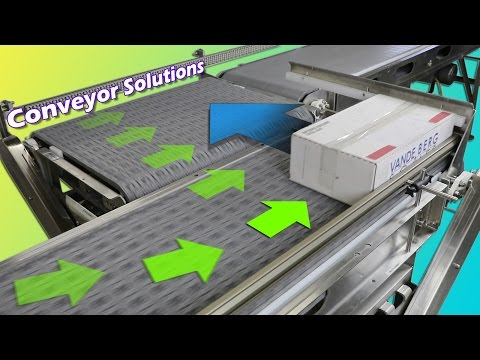 Compact Box Conveyor with Lateral Transfer: Case Transport Solutions