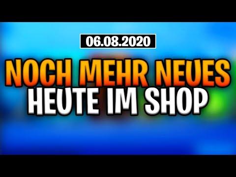 Fortnite Shop 6.8 | NOCH MEHR NEUES | Shop von heute 6.8.20 | FERJUS