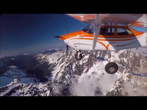 Cessna 182 Olympic mountains tour