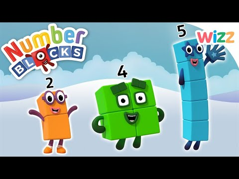 Numberblocks - Learn to Count | 1, 2, 3