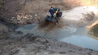 "ATV fun ""I think I can"""
