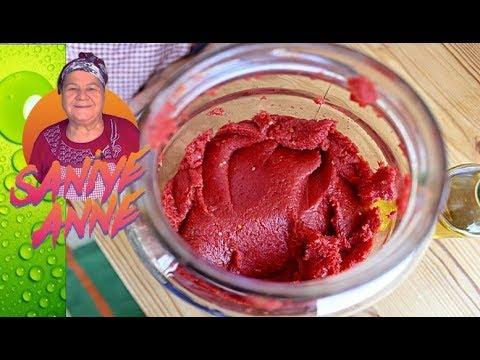 Taş Gibi Domates Salçası Nasıl Yapılır - Salça Tarifi