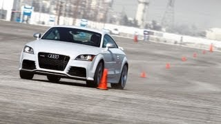 Track Tested: 2012 Audi TT RS -- Edmunds.com Video