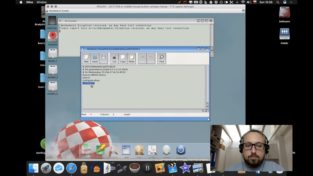 Flower Pot - AmigaOS 4 1 setup part 2 - AMIcast