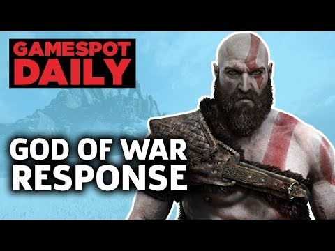 God Of War PS4 Director Brought To Tears Over Reviews - GameSpot Daily