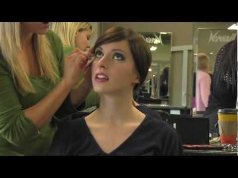 Make up Demo at Versailles Academy of Make-Up Arts, Esthetics & Hair