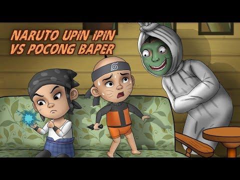 naruto-upin-ipin-vs-pocong-baper---kartun-hantu,-kartun-lucu-|-rizky-riplay