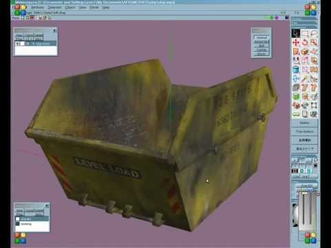 texturing with metasequoia.avi