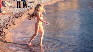 Крещенские купания в +5? Легко! Крещение в Крыму. Севастополь