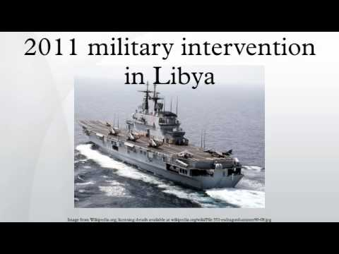 2011 military intervention in Libya