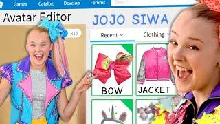 I Made JoJo Siwa a Roblox Adopt Me Account!