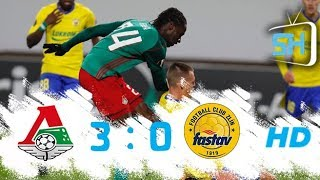 Lokomotiv Moscow vs Zlin 3-0 All Goals and Highlights Europa League September 28 ,2017