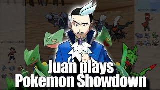 Playing as GYM LEADER JUAN!  |  Pokemon Showdown All-Stars Gen 3