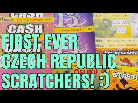 NICE WIN STREAK BEATING THE ODDS! FIRST TIME CZECH REPUBLIC SCRATCHERS!