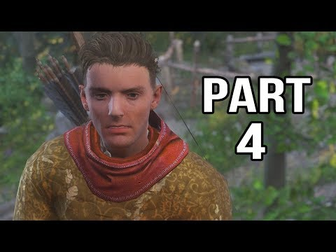 Kingdom Come Deliverance Gameplay Walkthrough Part 4 - Hunting With Hans