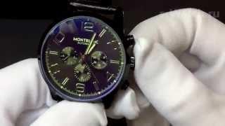 Обзор: Часы Montblanc Timewalker