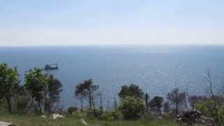 Южный берег Крыма, обзор(01.05.2013, Украина , Крым, Обзор из Заповедника около санатория