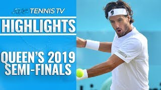Baixar Lopez, Simon Set Final Clash; Murray into Doubles Final | Queen's 2019 Semi-Final Highlights